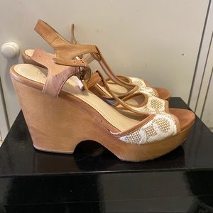 Coach Wedge sandals size 8